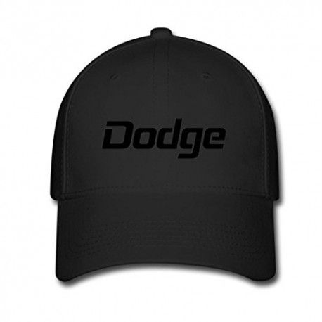 Black MUKIY dodge logo Design Baseball Caps Sun cap