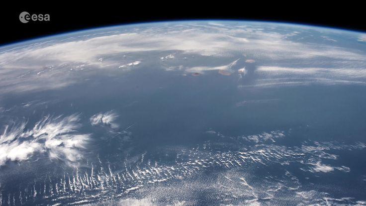 https://flic.kr/p/UebxLB | From Cape Verde to Russia | A #fridayisland timelapse flight over Cape Verde and up the coast along the Sahara and Morocco, the strait of Gibraltar and on to a cloudy Eastern Europe and Russia  Quelques minutes nous suffisent pour voyager du Cap-Vert à la Corse en passant par les Canaries, Ibiza et Majorque... Un survol insulaire qui ne prend que quelques secondes en timelapse !  Credits: ESA/NASA  GMT097_15_56
