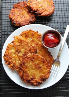 Hash Brown for breakfast is Necessary, especially if they are extra crispy and super flavorful. Enjoy!use gf flour