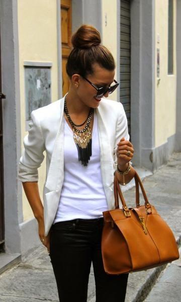 Look Maxi Colar + Blazer