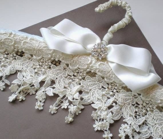 ♥ it would be beautiful to hang a wedding dress on or a smaller one for a christening dress