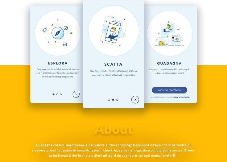 Bemyspot è l'app che ti permette di ricevere premi in cambio di semplici azioni: check-in, selfie nel negozio e condivisione social. Diventa testimonial dei brand e ottieni giftcard da spendere nei tuoi negozi preferiti!