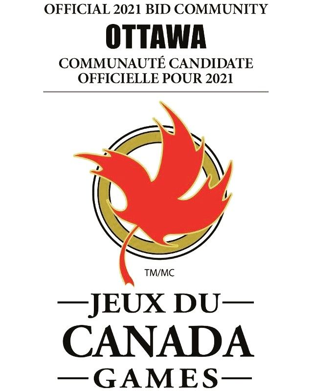 Official logo of Ottawa's 2021 bid for the Canada Summer Games
