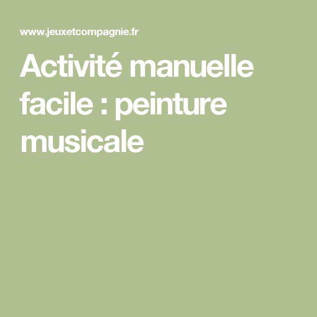 17 best ideas about activit manuelle facile on pinterest - Activite manuelle originale ...