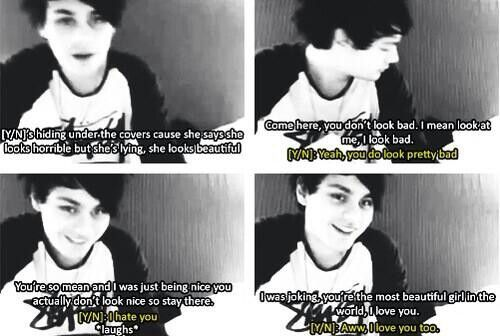 Imagine: Michael being the sweetest boy in the world. (c) @5SOS_Imagining