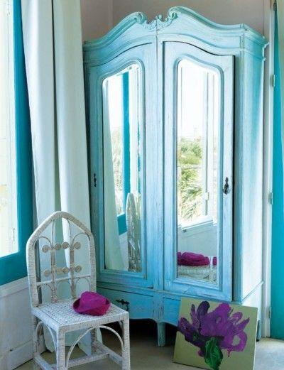 DIY closet organization & decor