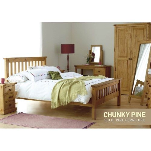 Heritage Furniture Chunky Pine Single Bed Frame