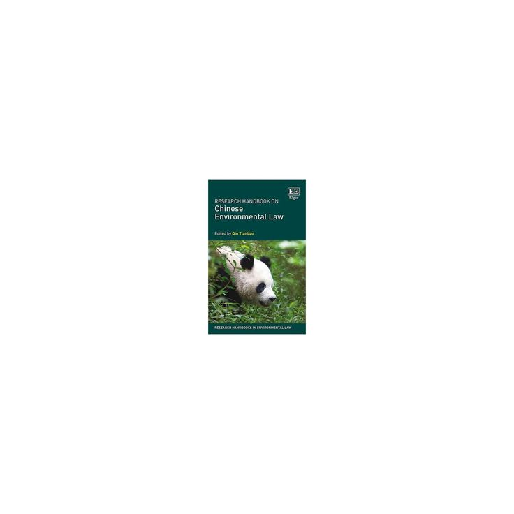 Research Handbook on Chinese Environmental Law (Hardcover)