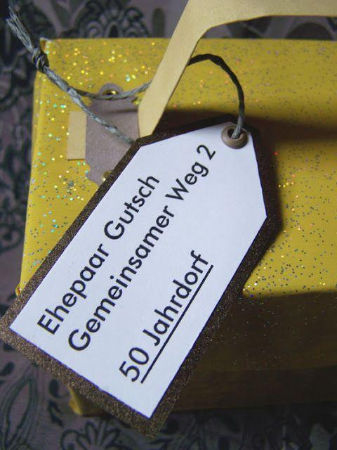 design by gutschi ღ: Goldene Hochzeit …