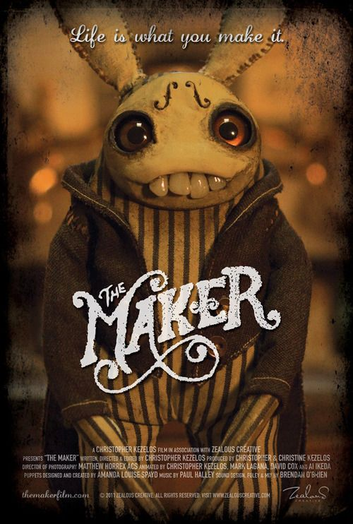 The Maker, A Touching Animated Short Film About Enjoying Life & Love