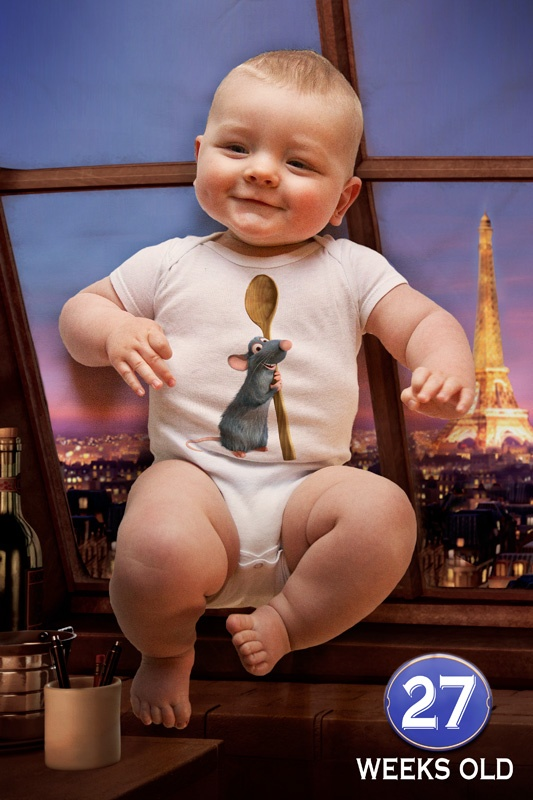 weekly photo 27 - Pixar's Ratatouille: Photos 27, Week Photos, Lincoln 1St, Photos 25 29, Photos 2529, 1St Years, Baby Stuff