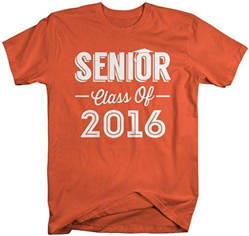Shirts By Sarah Mens Senior Class Of 2016 T-Shirt Seniors Shirt Cap – Hilarious …