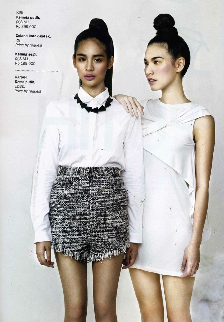(X)S.M.L White Shirt and Necklace are appeared on Kartini - April 2013