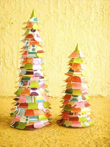 crafts: Christmas Cards, Xmas Trees, Christmas Crafts, Scrapbook Christmas, Christmas Trees Crafts, Paper Christmas Trees, Scrapbook Paper, Christmas Paper, Paper Trees
