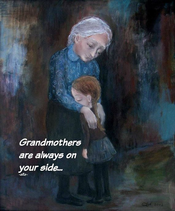 GRANDMOTHERS Print by Nino Chakvetadze and Zen to by ZENTOZANY