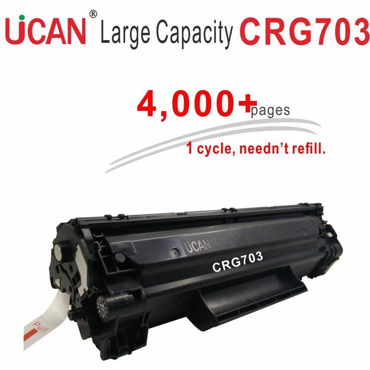 Cartridge 103 303 703 for Canon LBP2900 LBP2900+ LBP3000 Laser Printer Toner  4000 pages No Waste Toner Powder