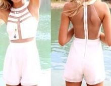 C82412A Clubwear Celebrity bodycon jumpsuits rompers/shorts overall Sexy Mesh patchwork bodysuit jumpsuit Best Seller follow this link http://shopingayo.space