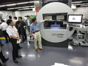 motioncutter® - digital high-speed laser system from themediahouse GmbH, Germany