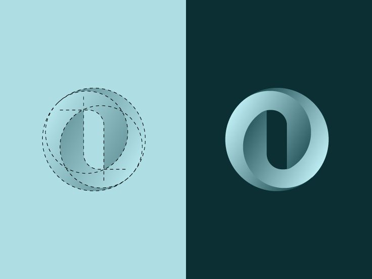 O Letterform Logo Design by Setyo