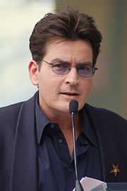 Carlos Irwin Estévez (born September 3, 1965)[3], best known by his stage name Charlie Sheen, is an American actor. He has appeared in films such as Platoon (1986), The Wraith (1986), Wall Street (1987), Major League (1989), Hot Shots! (1991), Hot Shots! Part Deux (1993), Scary Movie 3 (2003), and Scary Movie 4 (2006). On television, Sheen is known for his roles on Spin City, Two and a Half Men, and Anger Management. In 2010, Sheen was the highest paid actor on television and earned US$1.8…