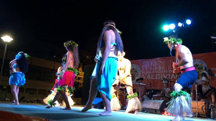 Ballet Puku Rangi Tea de Rapa Nui en Valdivia. 19 Feb. 2016