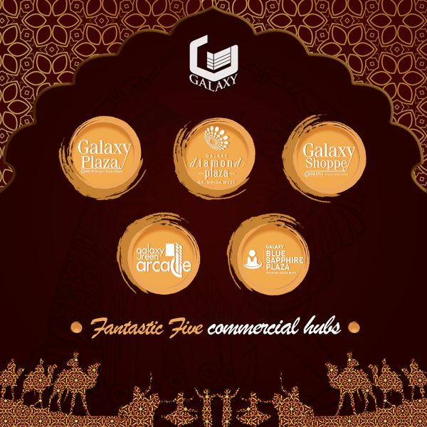 #TheGalaxyGroup is presenting five fantastic commercial hubs in Delhi NCR. #FantasticCommercial #LuxuriousResidential #SummerFiesta #Event