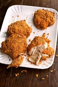 1000+ ideas about Oven Fried Chicken Thighs on Pinterest ...