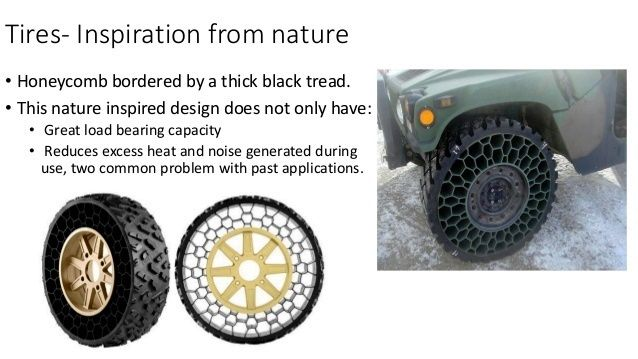 BIOMIMICRY CREATES NEW TIRES