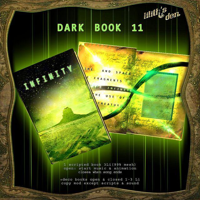 LD Dark Book 11 - infinity   by *MANDRAGORA* & Lilith's Den