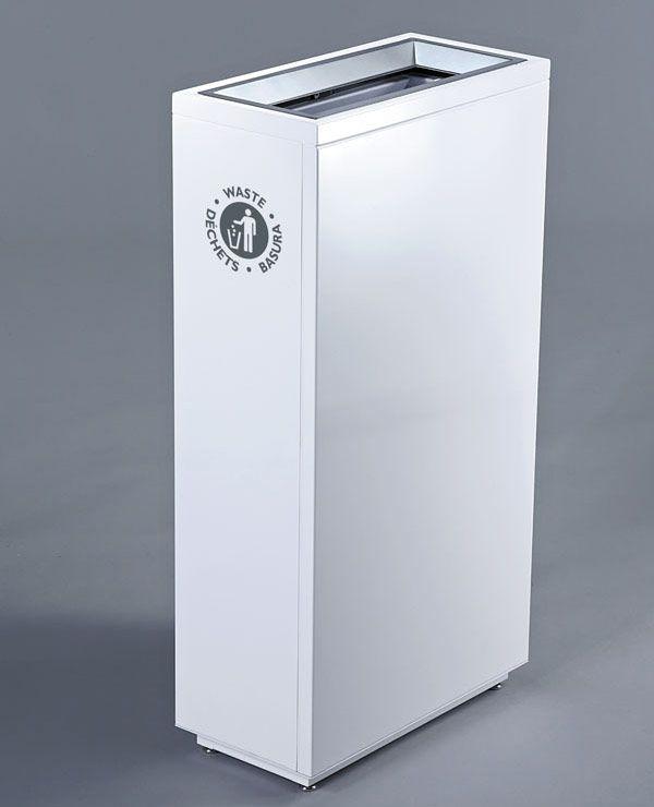 Valuta Waste Receptacle - Magnuson Group - the Apple version trash can!