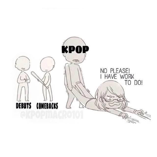 We signed a contract in blood that we would never go back, Kpop ALWAYS comes 1st!!!!!!!!