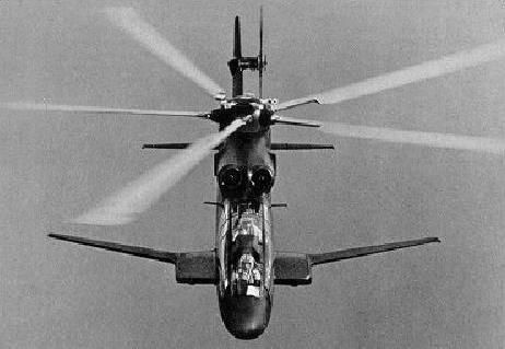 sikorsky blackhawk attack helicopter - I observed this aircraft perform a barrel roll while flying down/over the Rhine river in FRG 1973. The rotor was effectively unloaded and the roll accomplished using alirons on the stub wings. Built around the dynamic components of the S-61. Or so I understand.