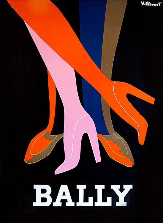 #Bally - Love those colours! VINTAGE POSTERS ONLY | MELBOURNE AUSTRALIA