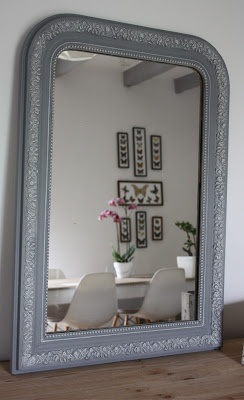 29 best images about porte de grange on pinterest for Restauration miroir ancien