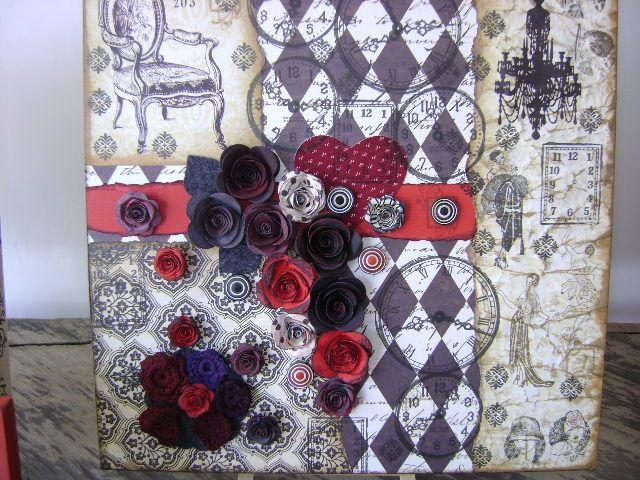 Retablos decorativos, diseños con arte en Vintage. Diseños Marta Correa Blog: disenosmartacorrea.blogspot.com Cel: 321 643 63 84