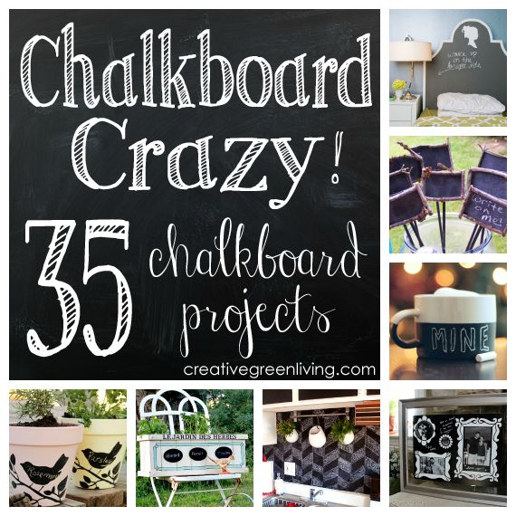 180 best images about diy chalkboard on pinterest for Unique chalkboard ideas