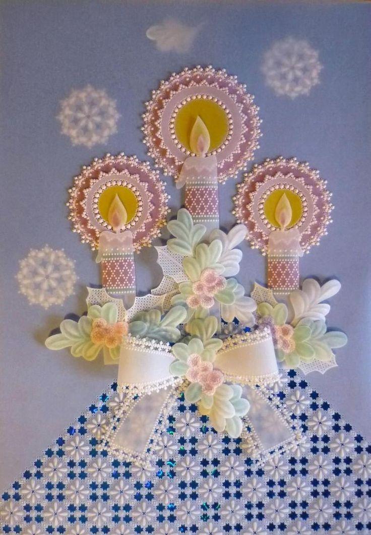 Чудеса из плотной кальки (Pergamano) - Ярмарка Мастеров - ручная работа, handmade
