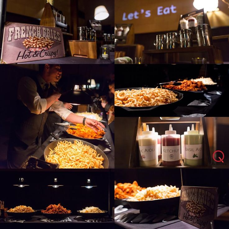 'Q Catering's' Fry Bar = Best thing ever. Classic French, Burger Stand Curly and Sweet Potato Criss Cut... 👌🏻  🍽SERVING GREATER LOS ANGELES & THE SAN FERNANDO VALLEY  Request a quote by clicking the link www.q.catering #qcatering #qcateringusa 📞424.218.5375 #dtla #foodie