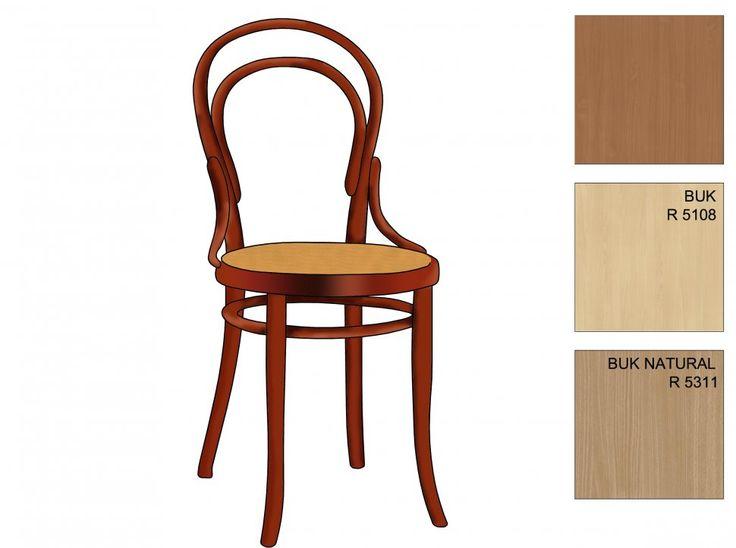 Thonet krzesło Nr 14 / Thonet - chair Number 14