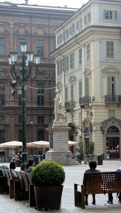Piazza Carignano - Torino, Piemonte, Italy
