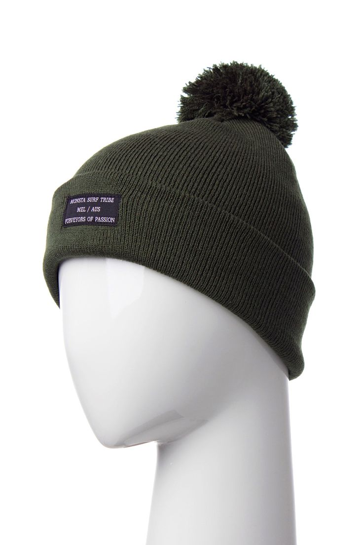 Purveyors Beanie Army Green from Monsta Surf