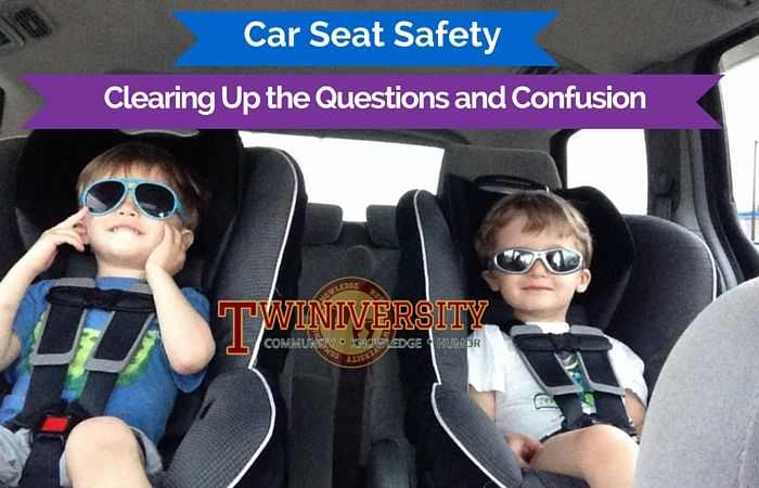 Are you confused about car seat safety? We've laid out the basics you need to know and some great resources to keep your kids safe in the car.