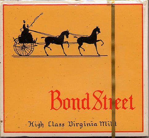 bond street dutch version high class virginia mild s 20 b holland