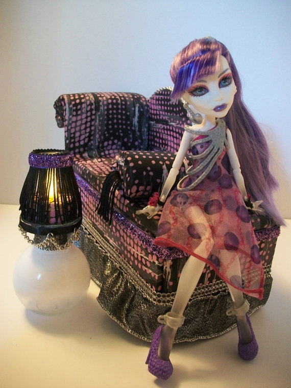 How To Make Monster High Doll House Furniture
