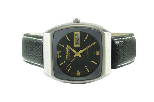 100-GENUINE-AUTHENTIC-RARE-VINTAGE-CITIZEN-DAY-DATE-AUTOMATIC-MENS-WRIST-WATCH