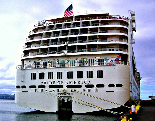 Norwegian Cruise Line - Pride of America ship.