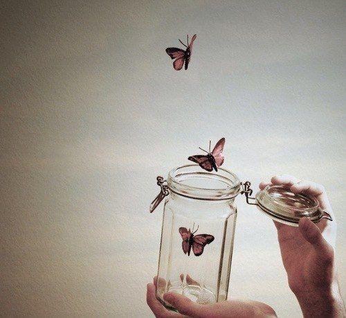 Учись отпускать - в этом секрет счастья.