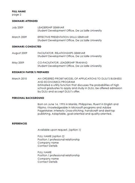 The  Best Example Of Resume Ideas On   Example Of Cv
