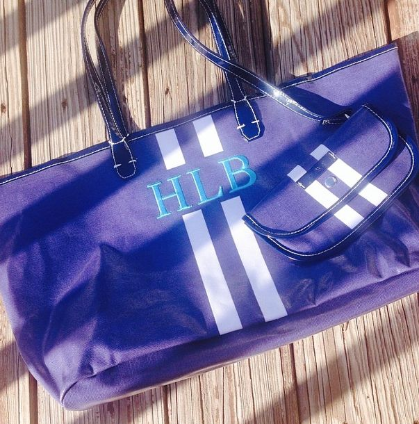 Our monogram Tote bags are the best!
