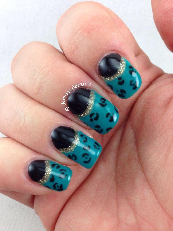 24 best sports nail art images on pinterest nail designs baby jacksonville jaguar nail art prinsesfo Choice Image